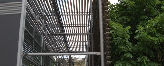 Angers : l'ossature bois de l'Université