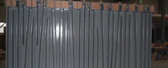 Moules bois pour mur anti-bruit