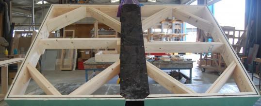 Le moule d'une cheminée